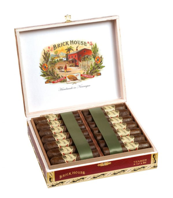 25 count open box brick house teaser cigars