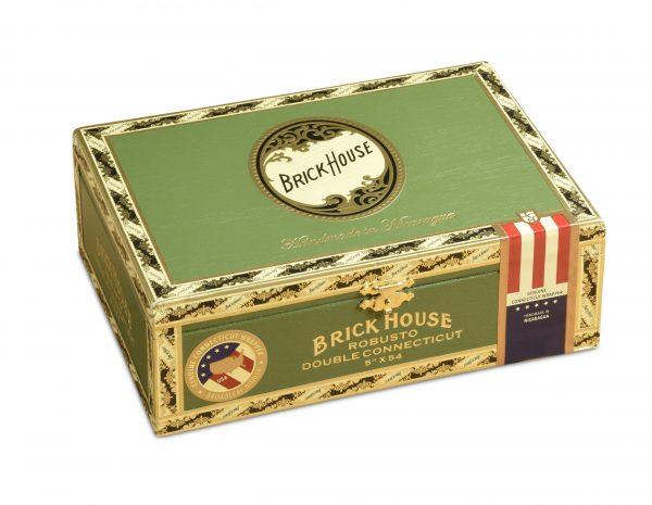 brick house double connecticut robusto box closed