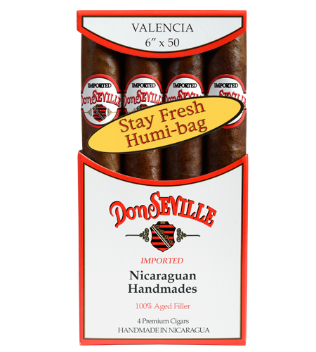 Don Seville Valencia 4 pack humidor bag