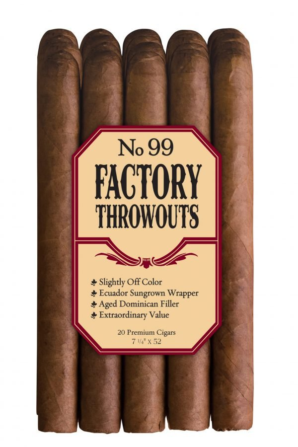 factory throwouts 99 natural bundle