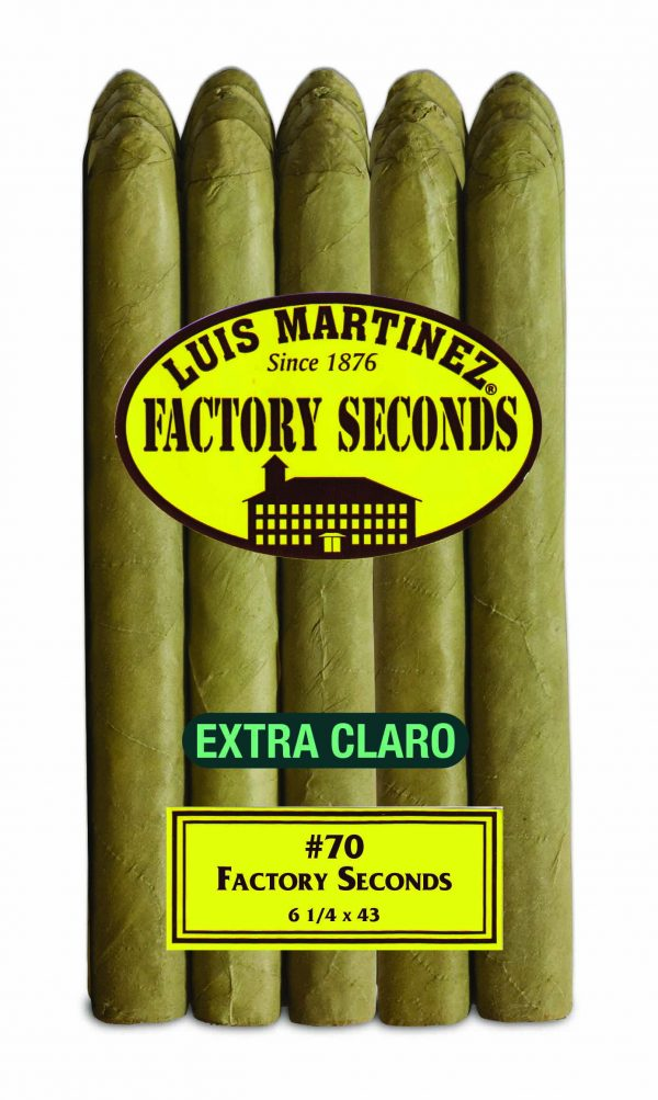 luis martinez factory seconds extra claro number 70 bundle