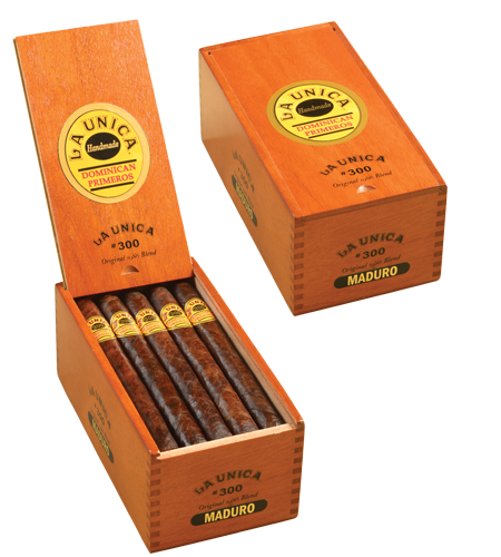 la unica maduro 300 box opened and closed
