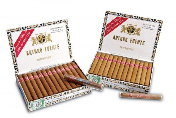 arturo fuente brevas it's a boy or girl boxes open