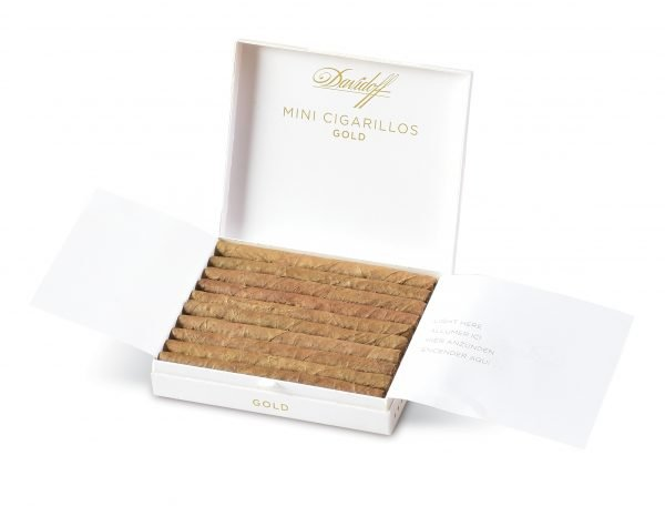 davidoff gold mini cigarillos open box