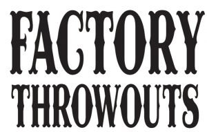 factory throwouts logo