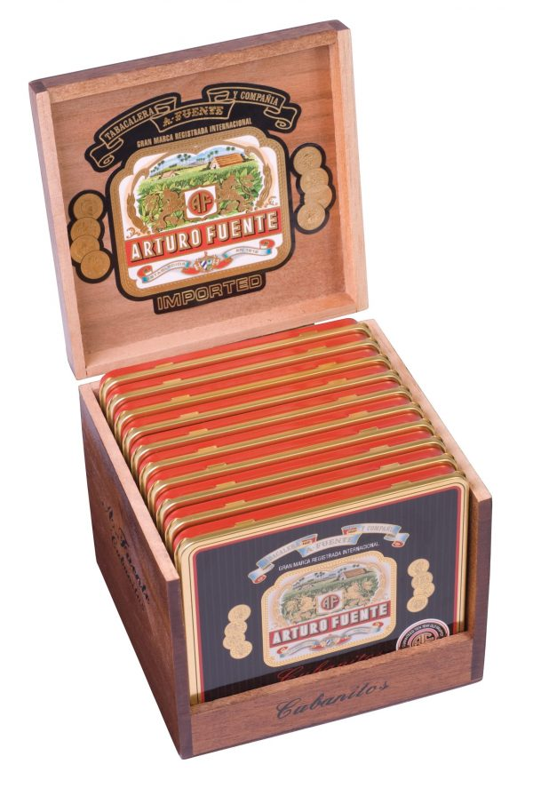 arturo fuente cubanitos tins in box