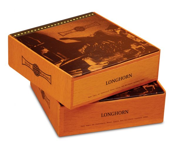 luis martinez longhorn closed boxes stacked