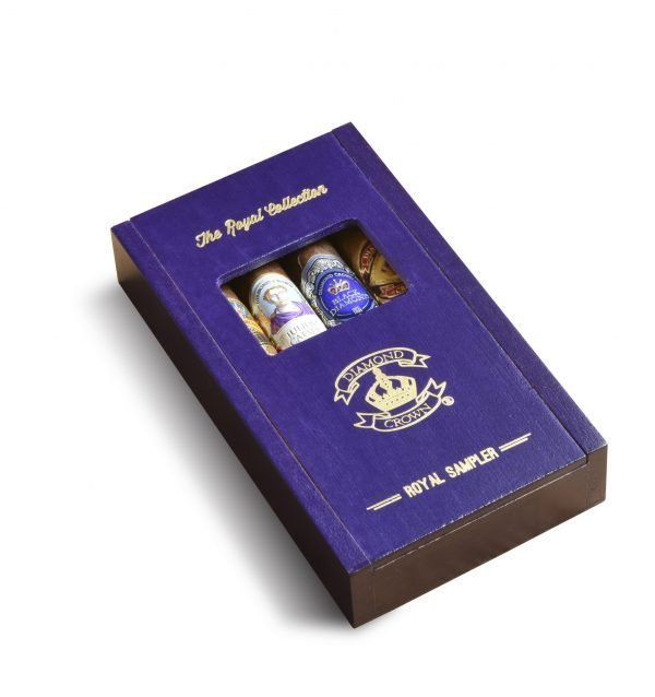 j c newman diamond crown royal collection sampler closed box