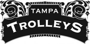 Tampa trolleys cigar logo banner