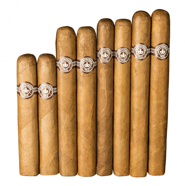 8 count assortment of Montecristo cigars